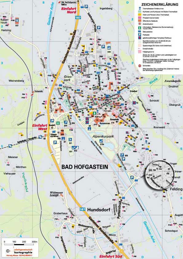 Maps Of Bad Hofgastein Ski Resort In Austria Sno