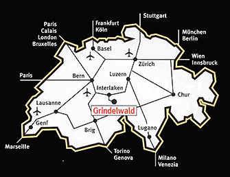 Maps Of Grindelwald Ski Resort In Switzerland Sno