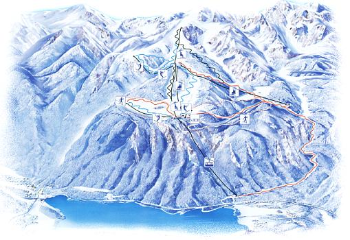 Vogel piste map