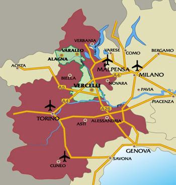 Maps of Alagna Valsesia ski resort in Italy SNO