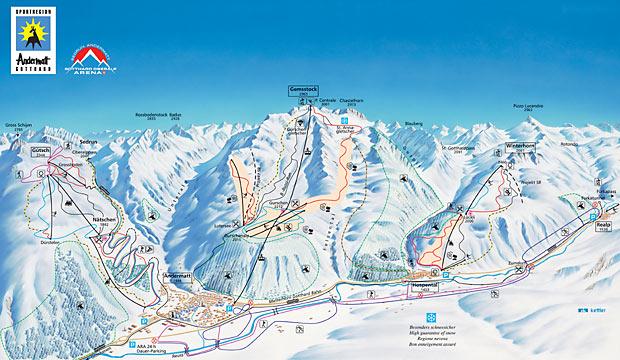 Spotlight on Andermatt Ski Resort Guide