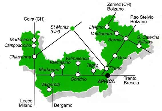 Bormio Italy Map.Maps Of Aprica Ski Resort In Italy Sno