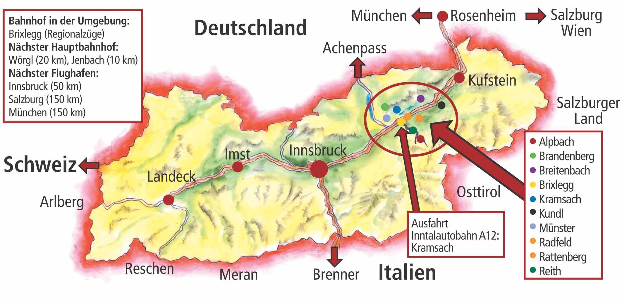 maps of alpbach ski resort in austria | sno ®