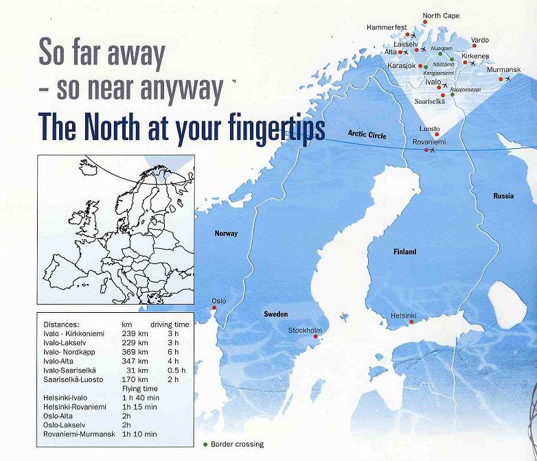 Maps Of Saariselk 228 Ski Resort In Finland Sno
