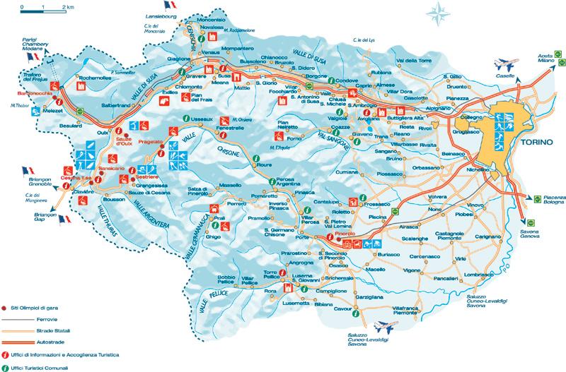 Maps of Sauze dOulx ski resort in Italy SNO