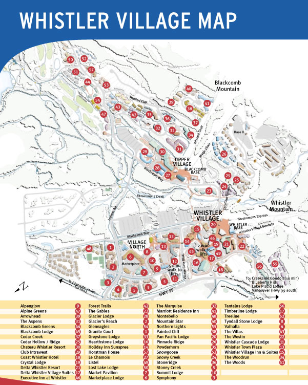 Maps of whistler ski resort in canada sno airport gumiabroncs Gallery